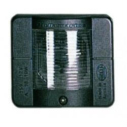 Hella 2010 Heklicht Wit - 2NM - 12V Lamp - Flushmount - Zwart
