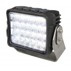Hella AS 5000 LED Worklight - Flood beam - Dayligth white - 9-33V - 5.000 LM - 60W - Black