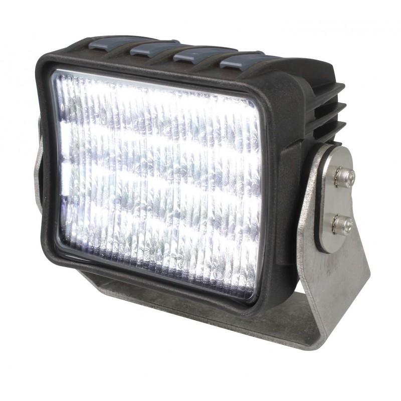 Hella AS 5000 LED Deckscheinwerfer Breitstrahlend -  9-33V - 5.000 Lumen - 60W - Schwarz