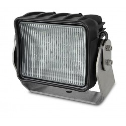 Hella AS3 LED Worklight - Spot beam - Dayligth white - 24V - 2.700LM - 45W - Black