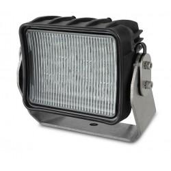 Hella AS3 LED Worklight - Flood beam - Dayligth white - 12V - 2.700LM - 45W - Black