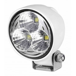 Hella Module 70 IV LED Worklight - Spot beam - Neutral white - 9-33V - 2.100LM - 21W - White