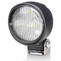 Hella Module 70 IV LED Worklight - Flood beam - Neutral white - 9-33V - 2.100LM - 21W - Black