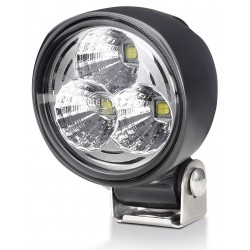 Hella Module 70 IV LED Worklight - Spot beam - Neutral white - 9-33V - 2.100LM - 21W - Black