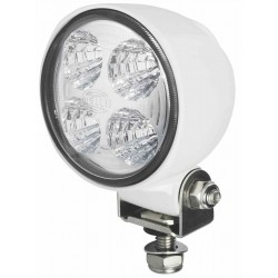 Hella Module 70 III LED Worklight - Flood beam - Neutral white - 9-30V - 800LM - 13W - White