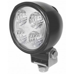 Hella Module 70 III LED Worklight - Flood beam - Neutral white - 9-30V - 800LM - 13W - Black