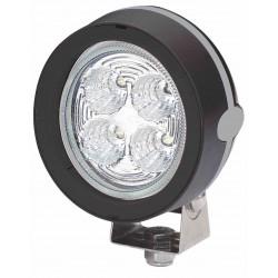 Hella Mega Beam III LED Worklight - Flood beam - Neutral white - 9-30V - 800LM - 13W - Black