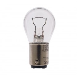 10 x Hella Light bulb - BA15s - 28V - 7W - R
