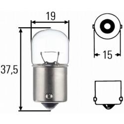 10 x Hella Light bulb - BA15s - 12V - 10W - R10 W