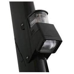 Hella 8504 Halogen Mast Deck und Navigatielamp Breitstrahlend - Diffus Linse - 12V - 55 und 10W - Schwarz