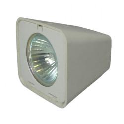Hella 8506 Halogen Mast Deckscheinwerfer Breitstrahlend - Diffus Linse - 12V - 20W - Weiß