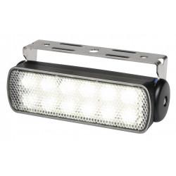 Hella Sea Hawk LED Worklight - Spot beam - Dayligth white - 9-33V - 200LM - 3W - Black
