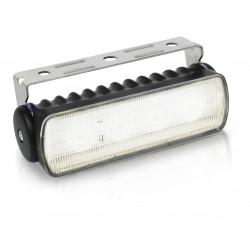 Hella Sea Hawk R LED Worklight - Flood beam - Warm white - 9-33V - 550LM - 7W - Black