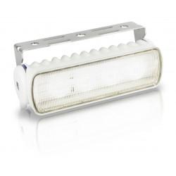 Hella Sea Hawk R LED Worklight - Flood beam - Warm white - 9-33V - 550LM - 7W - White