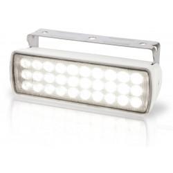 Hella Sea Hawk XL LED Worklight - Flood beam - Dayligth white - 9-33V - 750LM - 12W - White