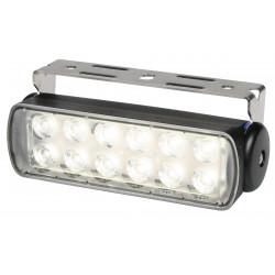 Hella Sea Hawk LED Worklight - Flood beam - Dayligth white - 9-33V - 200LM - 3W - Black