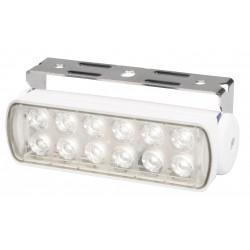 Hella Sea Hawk LED Deckscheinwerfer Breitstrahlend - Tageslicht Weiß - 9-33V - 200LM - 3W - Weiß