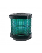 Green all round lamps